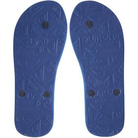 Quiksilver Molokai Panel Sandals Men, azul/naranja